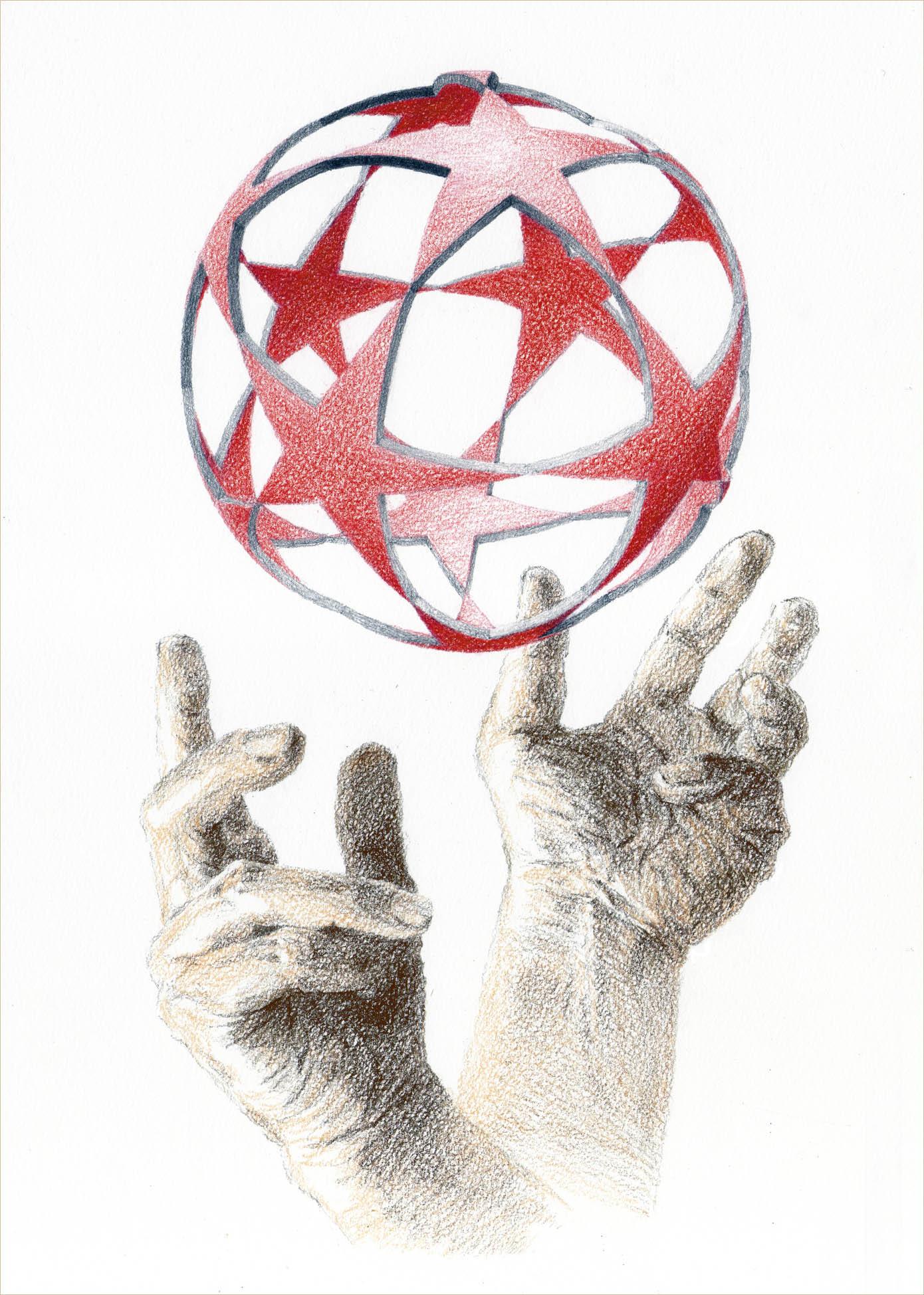 <134> 球と手_f0176500_2194348.jpg