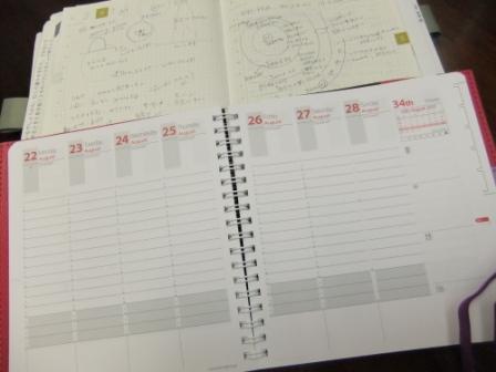 来年の手帳はクオ・バディス_c0125114_11425026.jpg