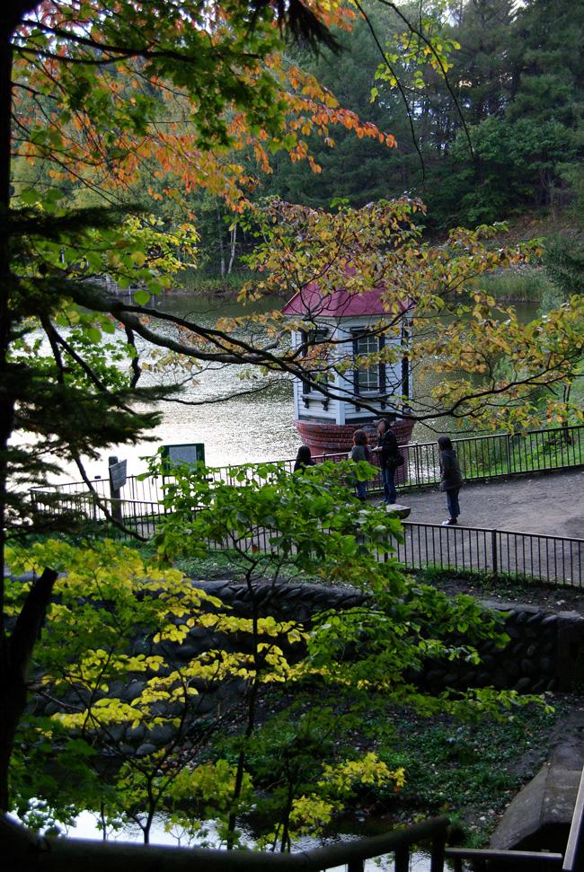 秋の西岡公園③~静かな夕景~(札幌市豊平区)_c0223825_1163441.jpg
