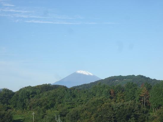 イチゴの植え付け完了!.......富士山も祝福??_b0137932_21253971.jpg