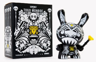 Togo Monroe 8-inch Dunny by ilovedust_e0118156_2292665.jpg