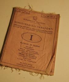 イタリアの運転免許証~日本とイタリアのタイムラグ_f0106597_2285818.jpg