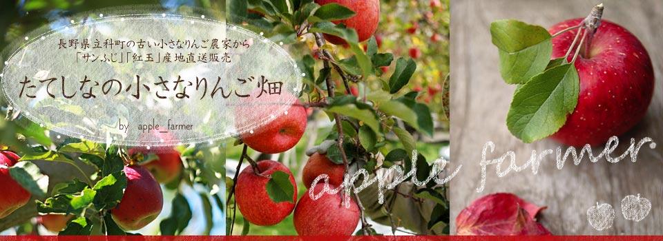 さんふじ・紅玉産地直送販売・たてしなの小さなりんご畑