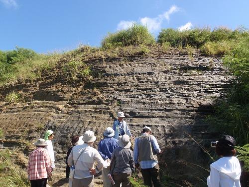 南部の地質見学①_c0180460_13573310.jpg