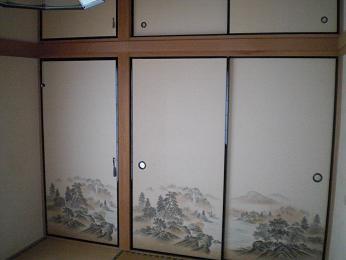 入居前の中古住宅リフォーム中です。~ 和室の畳と襖_d0165368_520179.jpg