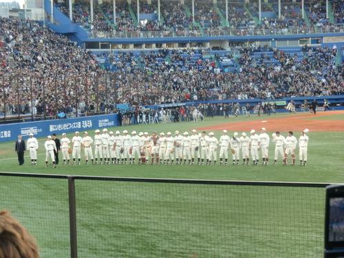 斎藤佑樹投手登板、最後の早慶戦_e0123104_7321240.jpg