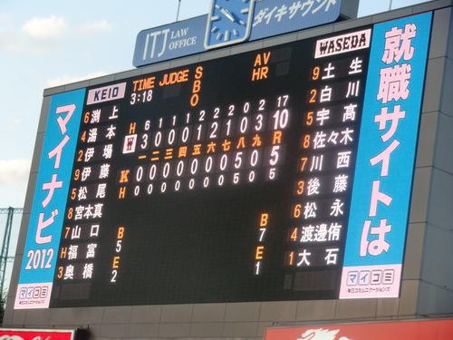 斎藤佑樹投手登板、最後の早慶戦_e0123104_733320.jpg