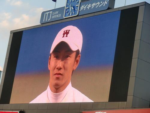 斎藤佑樹投手登板、最後の早慶戦_e0123104_736916.jpg