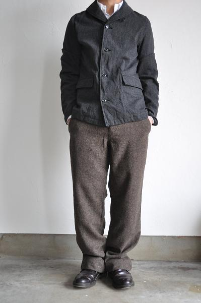 GARMENT REPRODUCTION OF WORKERS French Work Trousers Modified 01