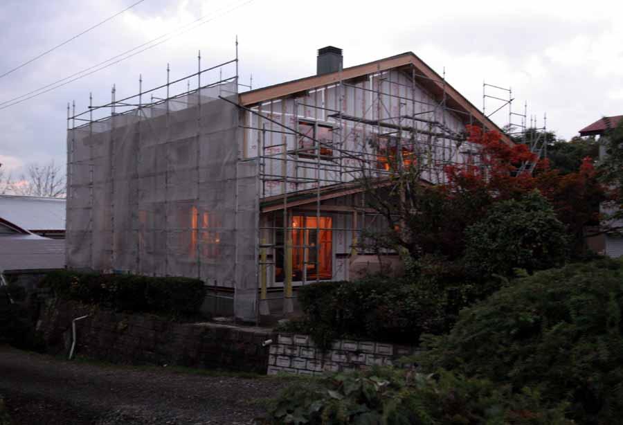 「外岡羽立の家」 工事中です。_f0150893_1754214.jpg