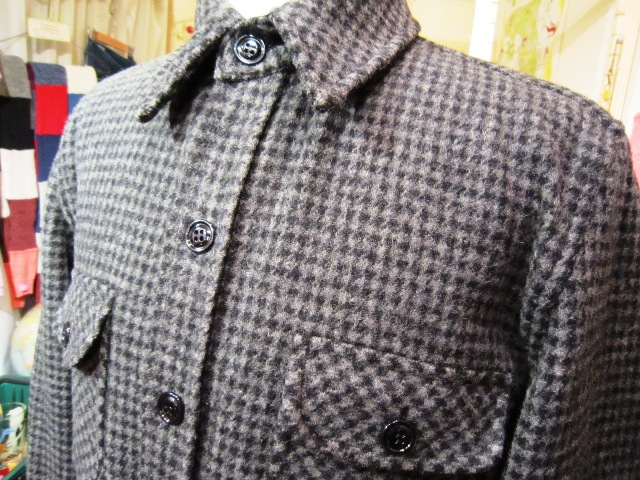 "FIDELITY × WOOLRICH ""CPO SHIRTS JACKET (HoundsTooth)\""_f0191324_2474399.jpg"
