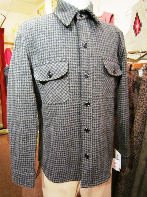 "FIDELITY × WOOLRICH ""CPO SHIRTS JACKET (HoundsTooth)\""_f0191324_2475221.jpg"