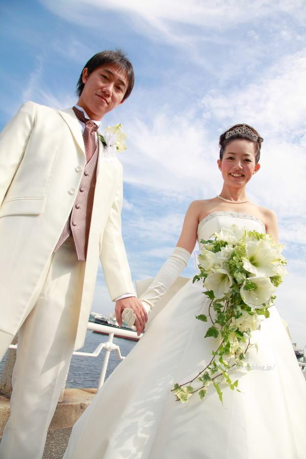 新郎新婦様からのメール アマリリスのブーケ モントレ横浜様へ_a0042928_20543617.jpg