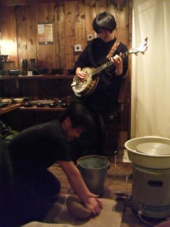 バンジョー&ロクロ ライブ_a0138231_14585094.jpg