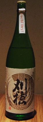 『刈穂 純米酒 Gachi Dry!』_f0193752_1784252.jpg