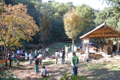 岬高校「MISAKIプロジェクト2010」;孝子の森植樹サポート_c0108460_18243216.jpg