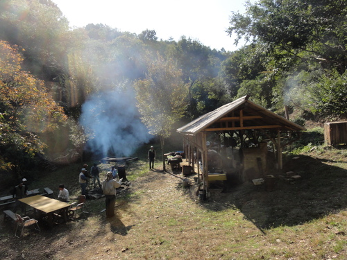 岬高校「MISAKIプロジェクト2010」;孝子の森植樹サポート_c0108460_1830679.jpg