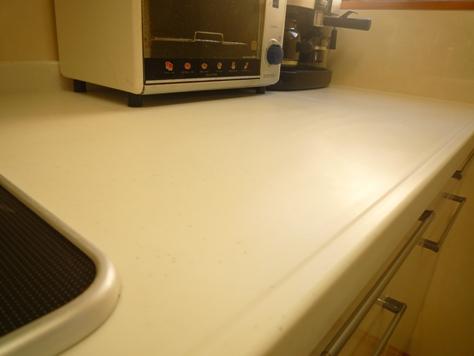 うちのキッチンカウンターも ゴシゴシ~♪_e0123286_1832552.jpg