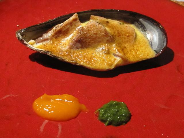 11月の料理「瀬戸貝とアグー豚」_d0177560_2233181.jpg