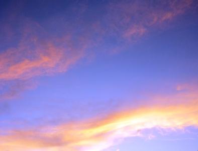 夕方から夜へ変わっていく空。_e0188087_847297.jpg