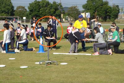 11/6津市で行われた三重県障がい者スポーツ大会に参加しました!_a0154110_9455287.jpg
