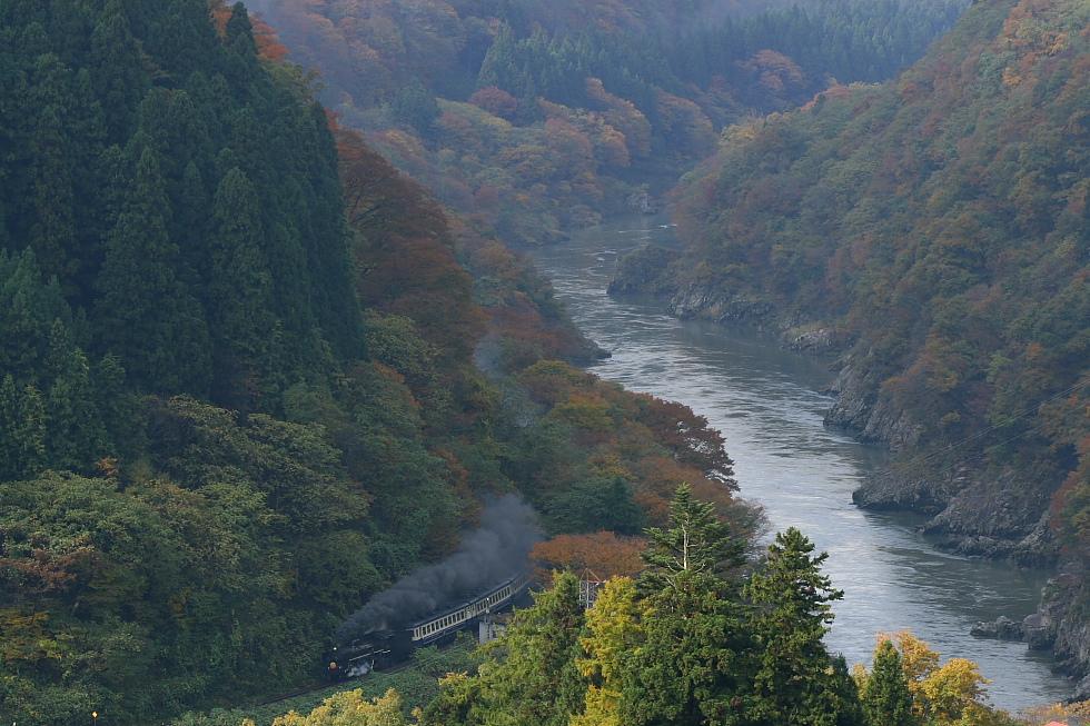 2010年秋 磐西の紅葉(2) - 黒煙と白煙 -_b0190710_22514723.jpg