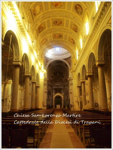 トラーパニのカッテドラーレ Chiesa San Lorenzo Martire ~トラーパニ観光 その2~_f0229410_1924186.jpg