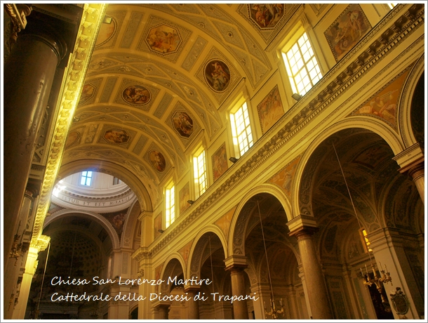 トラーパニのカッテドラーレ Chiesa San Lorenzo Martire ~トラーパニ観光 その2~_f0229410_19263417.jpg