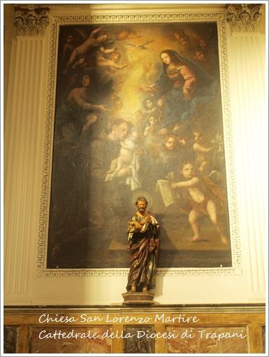 トラーパニのカッテドラーレ Chiesa San Lorenzo Martire ~トラーパニ観光 その2~_f0229410_19294416.jpg