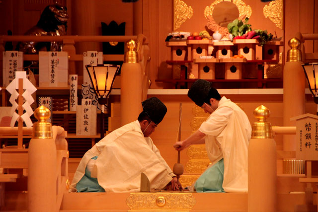 貴船神社 お火焚き祭1_e0048413_22371568.jpg