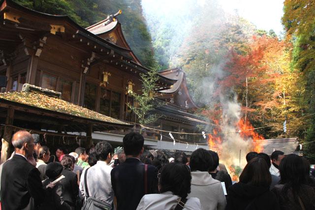 貴船神社 お火焚き祭 2_e0048413_23204111.jpg
