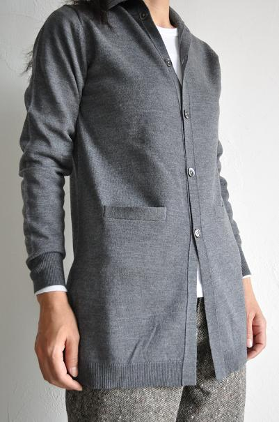 RINEN/リネン 14G Long Cardigan<br />