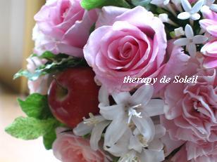 愛を伝えるキューピッドブーケ☆_e0205260_1930372.jpg