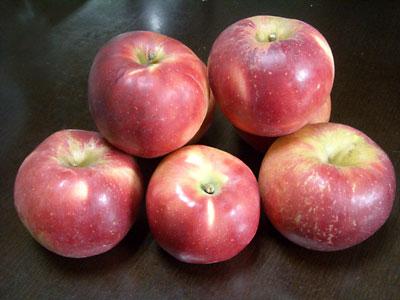 紅玉りんごで簡単アップルパイ(&ハイビスカスジュース)_e0097770_1510372.jpg