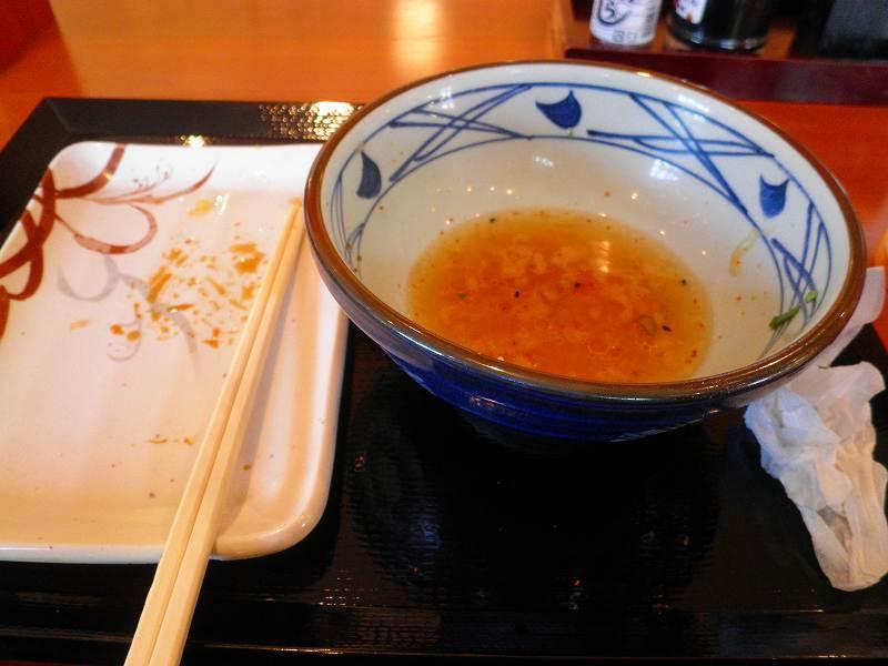 丸亀製麺    生野巽店_c0118393_9275268.jpg