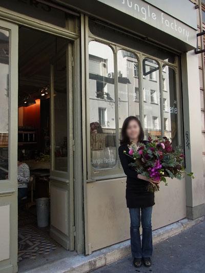 Parisでお花のレッスン!_f0134809_071100.jpg