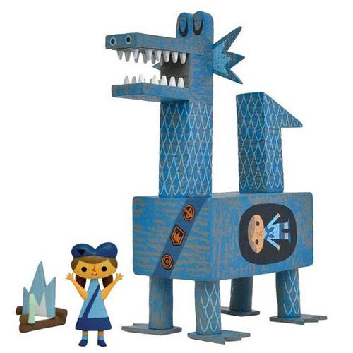 Dragon Scout Blue ver. by Amanda Visell_e0118156_2117661.jpg