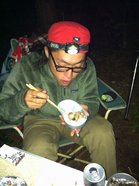 Camping☆_e0120173_22333021.jpg