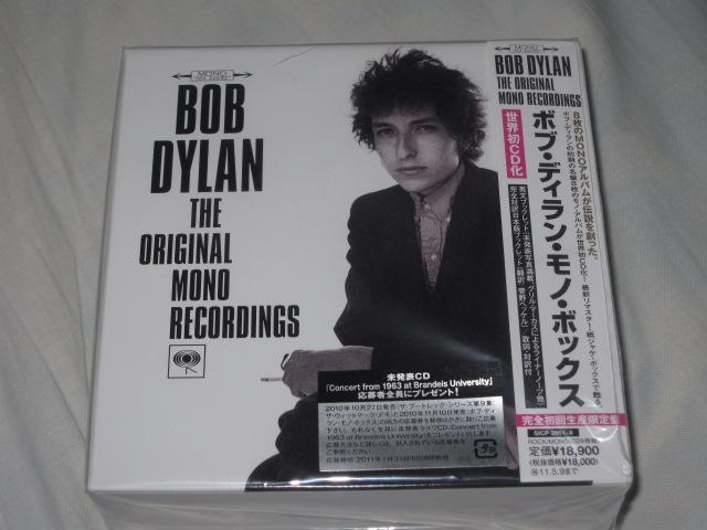 BOB DYLAN THE ORIGINAL MONO RECORDINGS (紙ジャケ)_b0042308_1849383.jpg