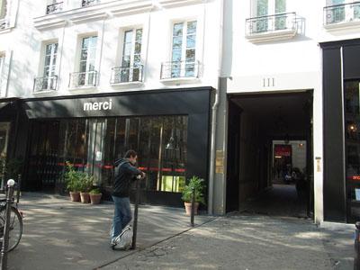 Parisのお洒落セレクトショップ 「merci」_f0134809_9535492.jpg
