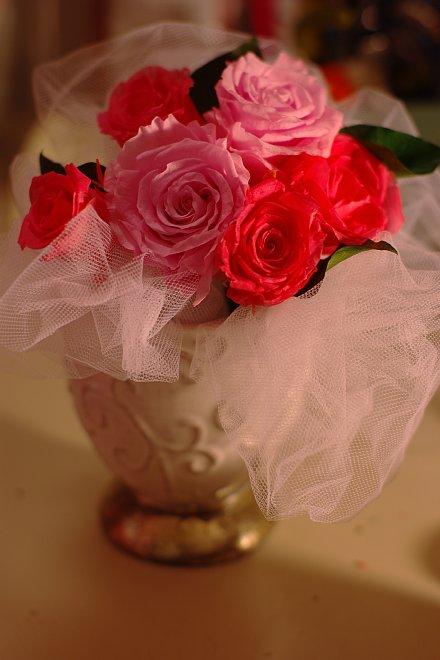 ピンクのオムツケーキ_e0171336_1832612.jpg