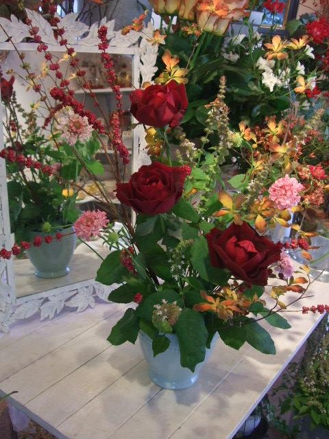 オークリーフ花の教室(小井土さんの作品)_f0049672_13475089.jpg