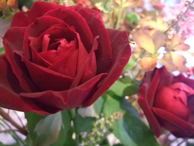 オークリーフ花の教室(小井土さんの作品)_f0049672_148559.jpg