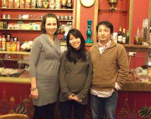 ロンドンのロシア料理食堂「トロイカ」 _e0030586_9234349.jpg
