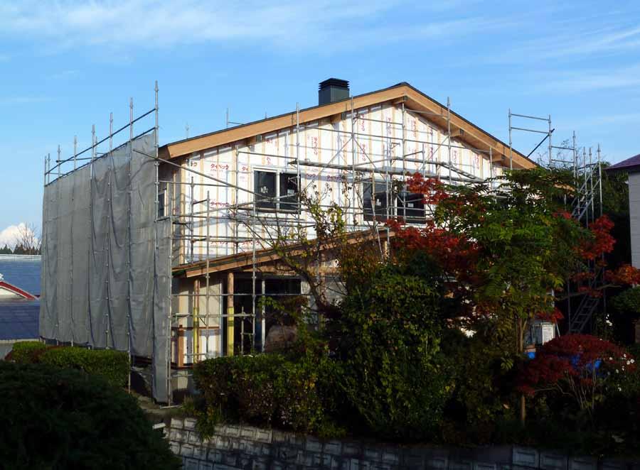 「外岡羽立の家」 工事中です。_f0150893_1810566.jpg