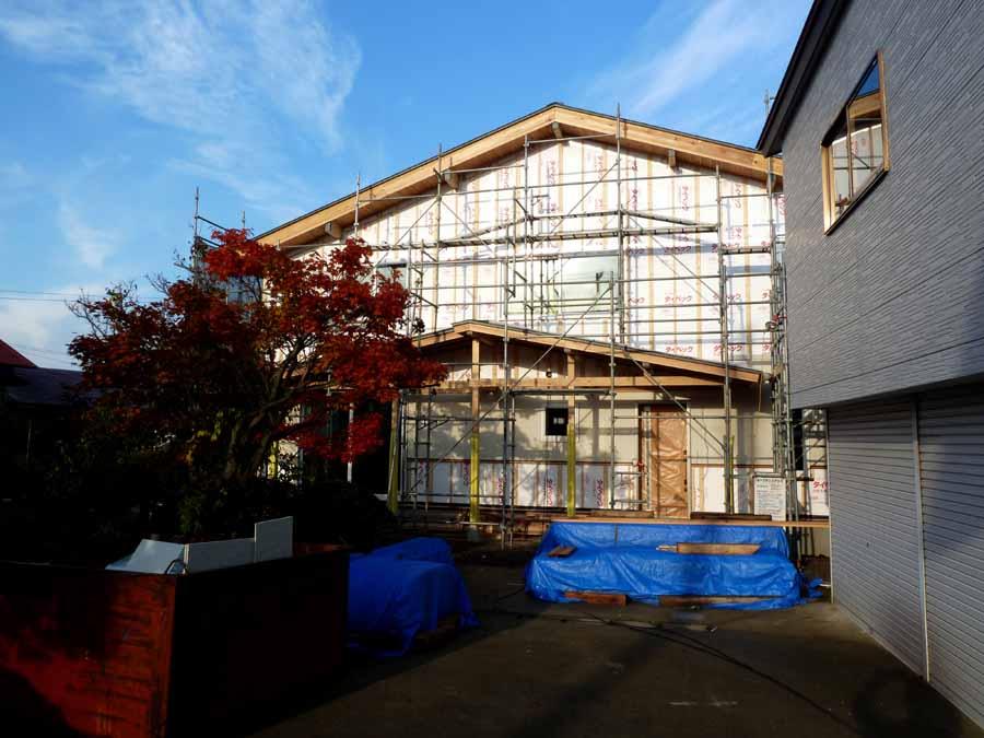 「外岡羽立の家」 工事中です。_f0150893_1811958.jpg