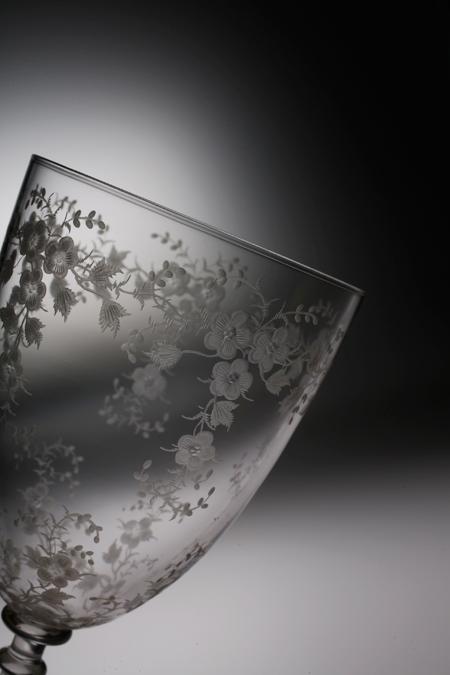 グラヴィール 花柄グラス_c0108595_14251570.jpg