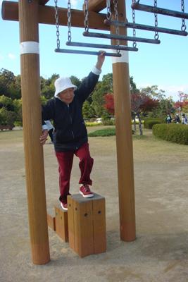 施設間交流で大仏山公園に行きました!_a0154110_1622418.jpg