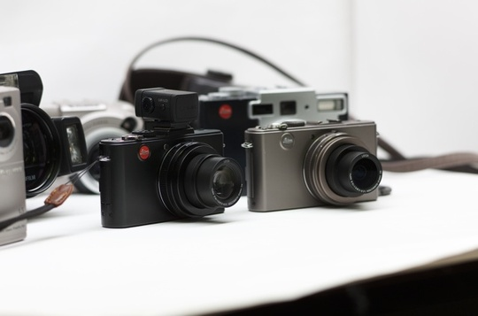 D-Lux5、Leica D-LUX4チタン限定モデル