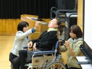 菅野真紀さん講演_b0137422_1637221.jpg